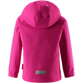 Reima Vantti Softshell Jacket Kids raspberry pink